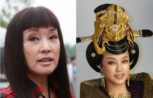 刘晓庆未整容前的照片 刘晓庆未整容前的照 刘晓庆未整容后的照片