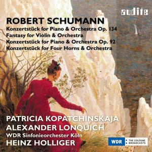 Schumann: Fantasy for Violin and Orchestra & Concert Pieces