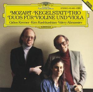 Mozart: Kegelstatt-Trio; Duos for Violin and Viola