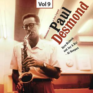 Milestones of a Jazz Legend - Paul Desmond, Vol. 9