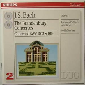 Bach J.s: Brandenburg Concertos Nos. 1 - 6, Etc.