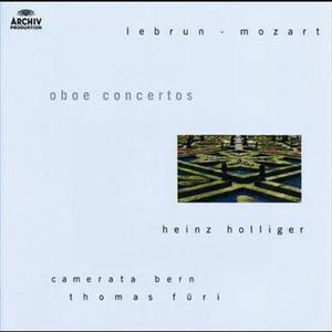 Lebrun / Mozart: Oboe concertos