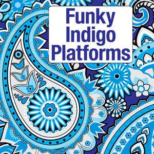 Funky Indigo Platforms